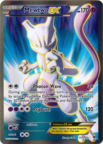 Mewtwo-EX - 157/162 - Full Art Ultra Rare