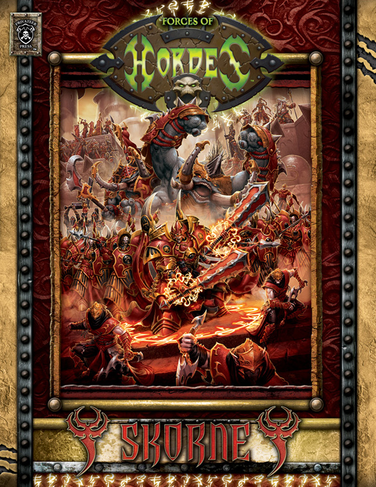 Forces of HORDES: Skorne HC