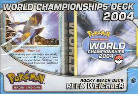 2004 World Championships Deck - Reed Weichler Rocky Beach Deck