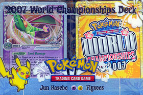2007 World Championships Deck - Jun Hasebe Flyvees Deck