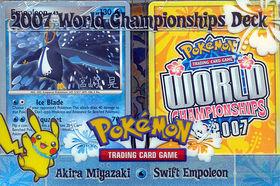Pokemon 2007 World Championships Deck - Akira Miyazaki (Swift Empoleon)
