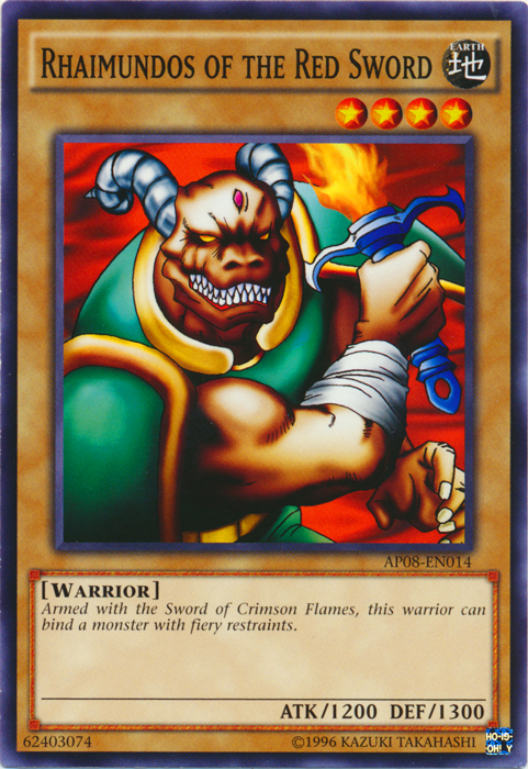 Rhaimundos of the Red Sword - AP08-EN014 - Common - Unlimited Edition