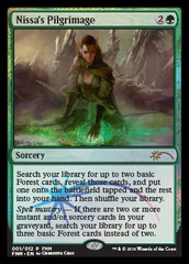 Nissa's Pilgrimage - Jan 2016 Foil