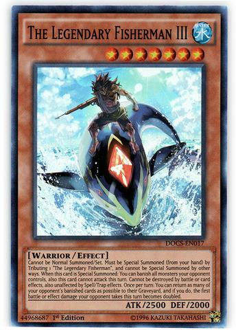 The Legendary Fisherman III - DOCS-EN017 - Super Rare - 1st Edition