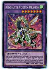 Odd-Eyes Vortex Dragon - DOCS-EN045 - Secret Rare - 1st Edition