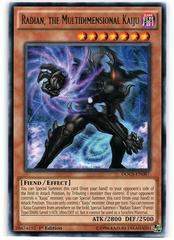 Radian, the Multidimensional Kaiju - DOCS-EN087 - Rare - 1st Edition on Channel Fireball