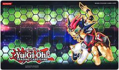 2012 Yu-Gi-Oh! Yuma Tsukumo Galaxy Green Playmat