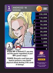 Android 18 - Smirking