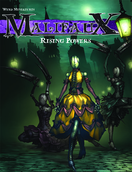 Malifaux Espansion Rule Book - Rising Powers