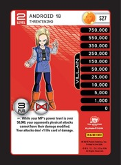 Android 18, Threatening - Foil