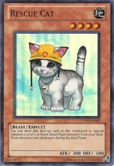 Rescue Cat - TU03-EN002 - Super Rare - Unlimited Edition