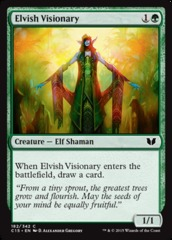 Elvish Visionary on Channel Fireball