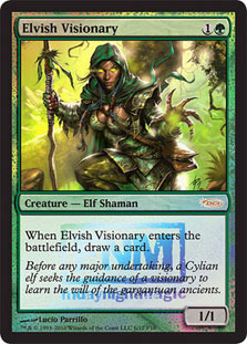 Elvish Visionary - Foil FNM 2010