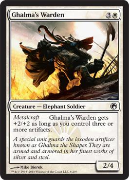 1x Essence Warden NM-Mint English Commander 2014 MTG Magic