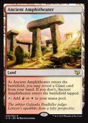 Ancient Amphitheater on Channel Fireball