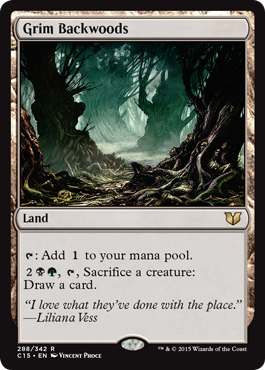 Grim Backwoods - Commander 2015