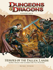 4th Edition - Heroes of the Fallen Lands Supplement (Very Good)