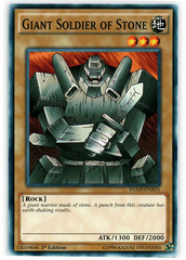 Giant Soldier of Stone - YGLD-ENA15 - Common - 1st Edition
