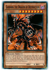 Gandora the Dragon of Destruction - YGLD-ENC03 - Common - 1st Edition