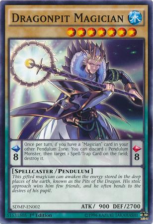 Dragonpit Magician - SDMP-EN002 - Common - 1st Edition