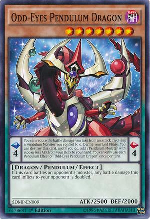 Odd-Eyes Pendulum Dragon - SDMP-EN009 - Common - 1st Edition