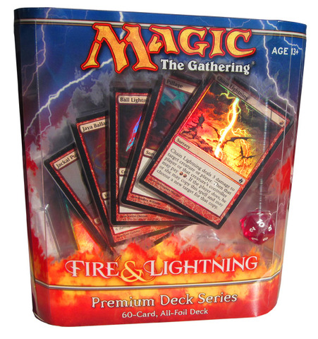 Premium Deck Series - Fire & Lightning