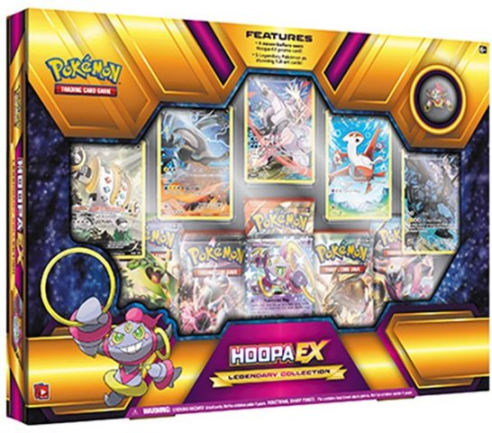 Hoopa EX Legendary Collection