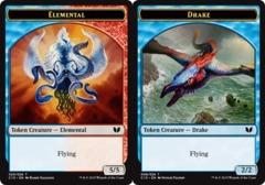 Elemental Token // Drake Token