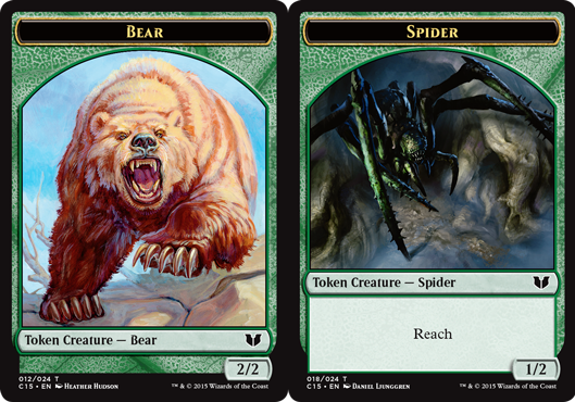 Bear Token // Spider Token