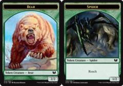 Bear Token // Spider Token