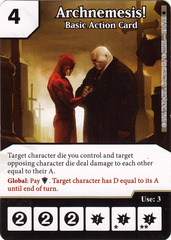 Archnemesis! - Basic Action Card (Die & Card Combo)