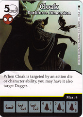 Cloak - Darkforce Dimension (Die & Card Combo)