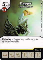 Dagger - Light Daggers (Die & Card Combo)