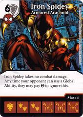 Iron Spidey - Armored Arachnid (Die & Card Combo)