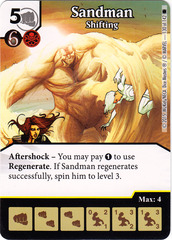 Sandman - Shifting (Die & Card Combo)