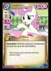 Twinkleshine, Experimental Magic - 80