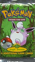 Pokemon Jungle 1st Edition Booster Pack