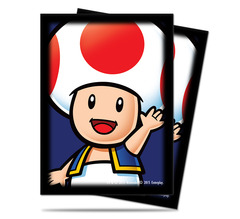 Super Mario: Toad Deck Protector sleeves 65ct