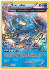 Gyarados - XY60 - XY Ancient Origins Staff Promo