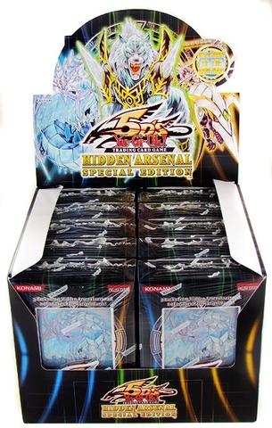 Yu-Gi-Oh Hidden Arsenal Special Edition Display Box