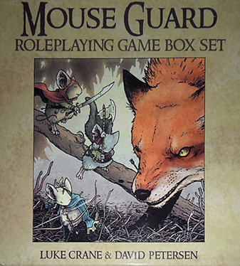 Mouse Guard Role Playing Box Set (2nd Edition)
