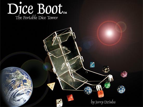 Chessex Dice Boot - CHX00023