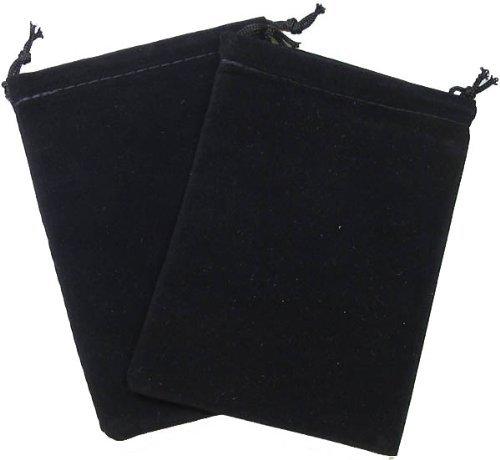 Chessex Velour Dice Bag Small Black 4x6