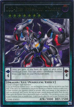 Odd-Eyes Rebellion Dragon - CORE-EN051 - Ultimate Rare - Unlimited Edition