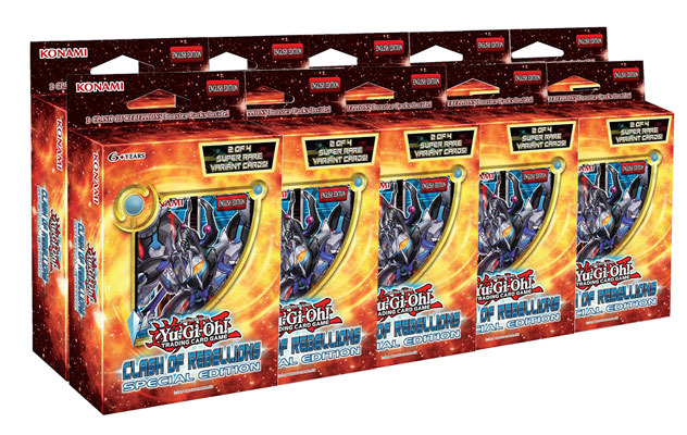 Yu-Gi-Oh Clash of Rebellions Special Edition Display Box