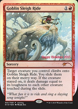 Goblin Sleigh Ride - 2015 Wizards Holiday Promo