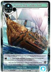Invasion Ship, Golden Hind - TTW-041 - R - 1st Edition
