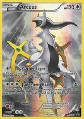 Arceus - XY83 - Pikachu-EX Legendary Collection Promo