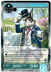 September Hare - TTW-048 - U - 1st Edition (Foil)