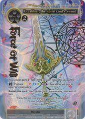 Excalibur, the Spirit God's Sword - TTW-098 - R - 1st Edition - Full Art